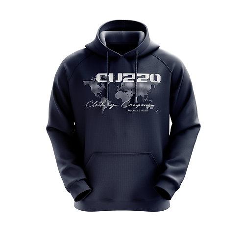 Cuzzo Worldwide Hoodie (Navy)