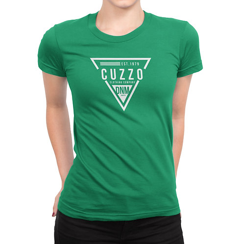 Cuzzo® Unisex Women's FLAVA Tee (Kelly-Green)