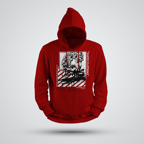 Cuzzo® Brandwashed Hoodie (Red)