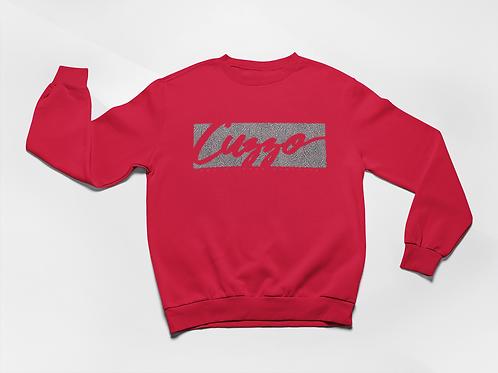 Cuzzo® Elephant Print Signature Block Sweatshirt (Red)