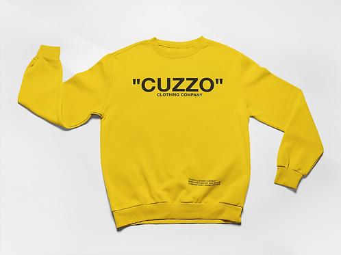"Cuzzo® ""Quote Me"" Sweatshirt (Gold-Black)"