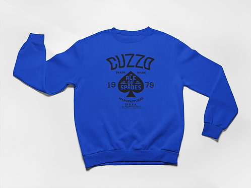 Cuzzo® Ace of Spades Sweatshirt (Royal)
