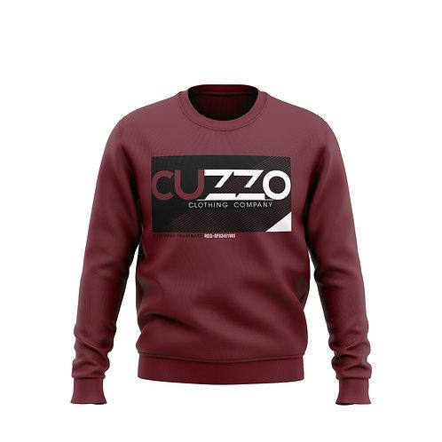 Cuzzo® Astro Crewneck Sweatshirt (Maroon)
