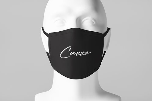 Cuzzo® Scripted Face Mask