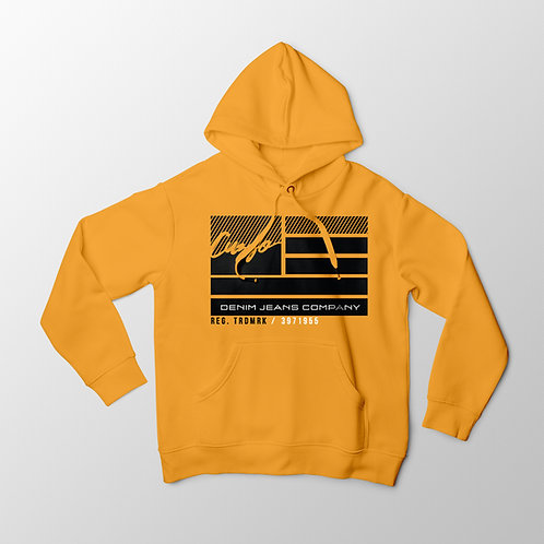 Cuzzo® Nation Flag Hoodie (Gold)