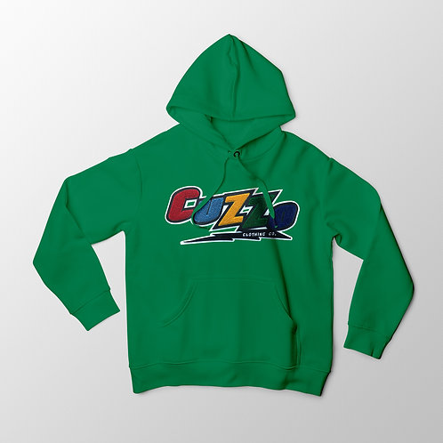 Cuzzo® Arc Hoodie (Green)