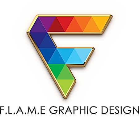 Flame Graphic Design Logo