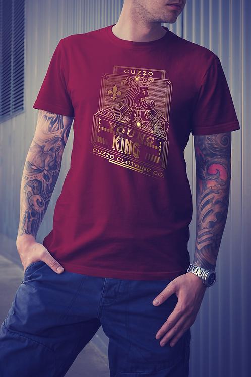 Cuzzo Young Kings Tee Cardinal