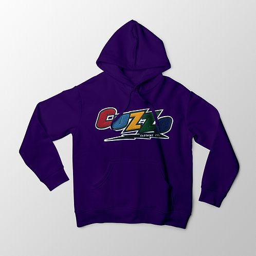 Cuzzo® Arc Hoodie (Purple)