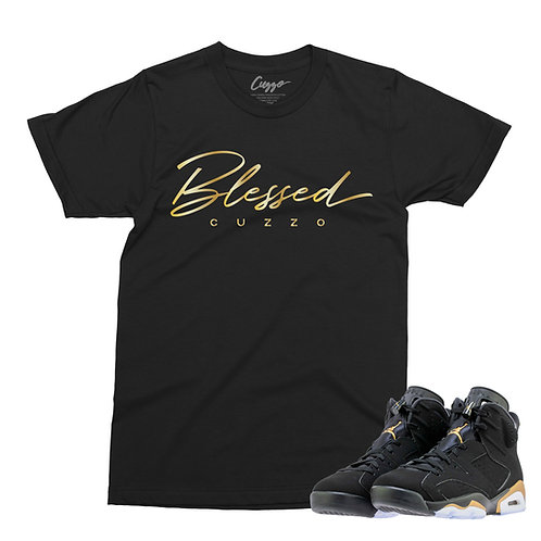 Cuzzo® Blessed (Black-Gold Foil)