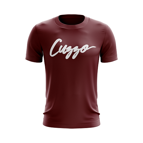 Cuzzo Signature Tee (Maroon)
