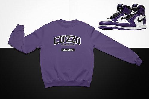 Cuzzo Grad Sweatshirt  (Purple-White)