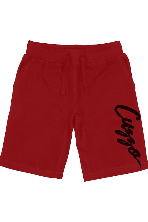 Cuzzo® Fleece Signature (Cardinal Red-Black)