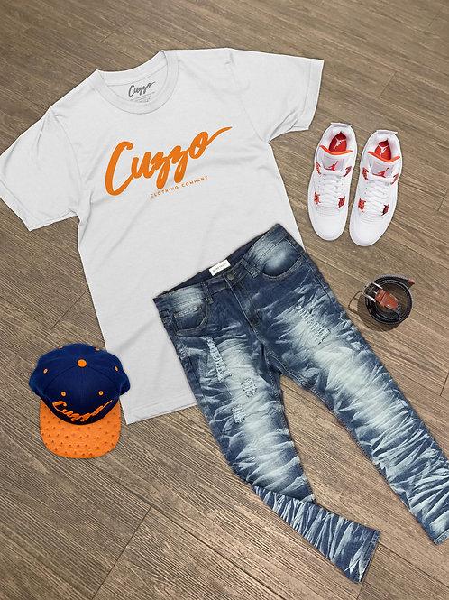 Cuzzo® Signature (White-Orange)