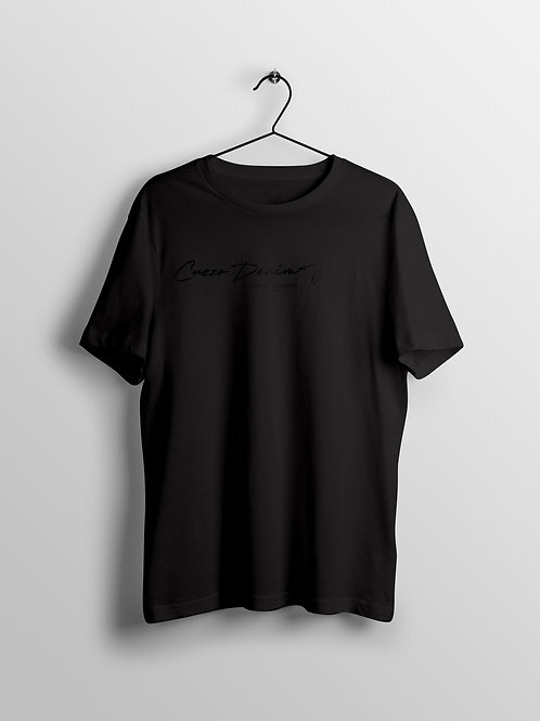Cuzzo® Scripted (Black-Black)
