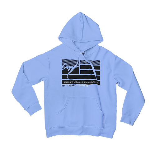 Cuzzo® Nation Flag Hoodie (University Blue)