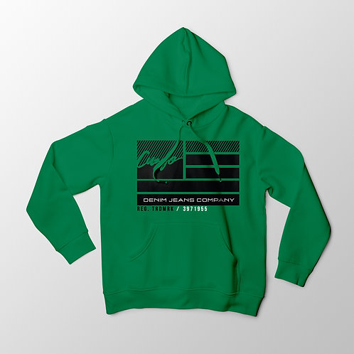 Cuzzo® Nation Flag Hoodie (Green)