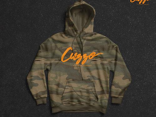 Cuzzo® Camo Hoodie  (Camo-Orange)