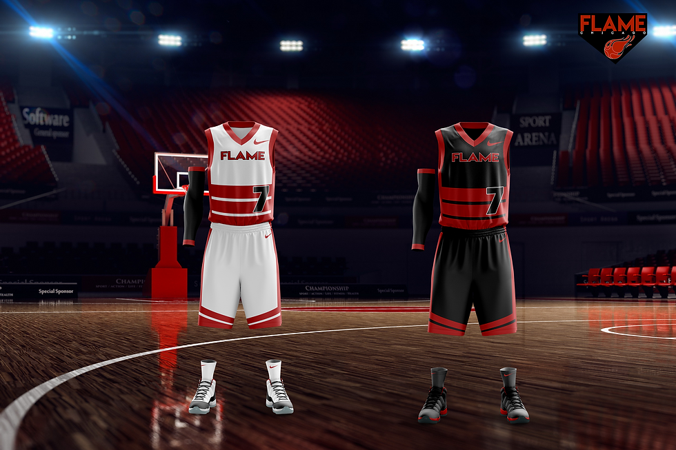 Chicago Flame jerseys