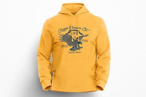 Cuzzo® Soar Hoodie (Gold-Navy)