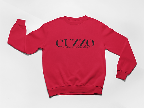 Cuzzo® Lux Sweatshirt (Red)