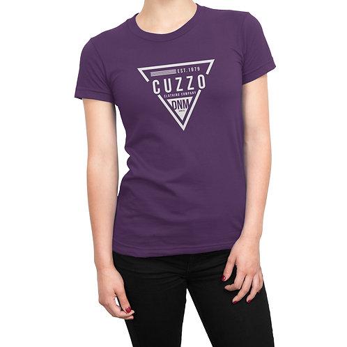 Cuzzo® Unisex Women's FLAVA Tee (Purple)