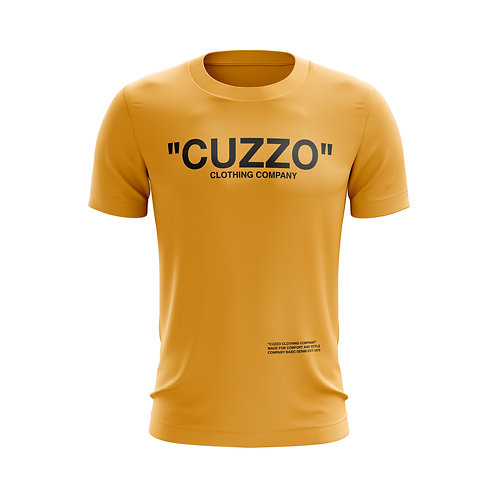Cuzzo® Quote ME Tee (Gold-Black)