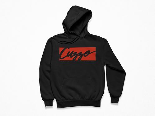 Cuzzo® Signature Block Hoodie  (Black/Red)