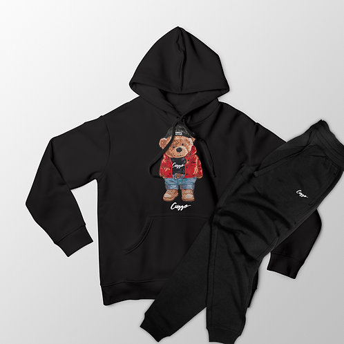 Cuzzo® Cuzzy™ Hoodie Jogger Set (Black)