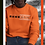 Thumbnail: Cuzzo® International Sweatshirt (Orange)