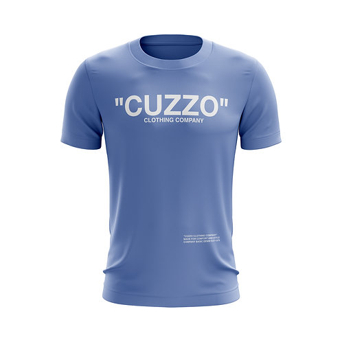 Cuzzo® Quote ME Tee (Carolina Blue-White)