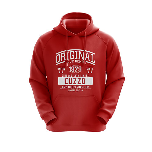 Cuzzo City-Limits Hoodie (Red)