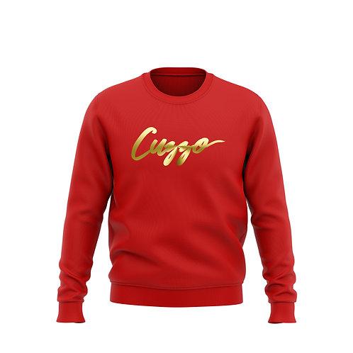 Signature Foil Crewneck Sweatshirt (Red)