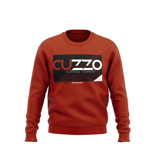 Cuzzo® Astro Crewneck Sweatshirt (Red)