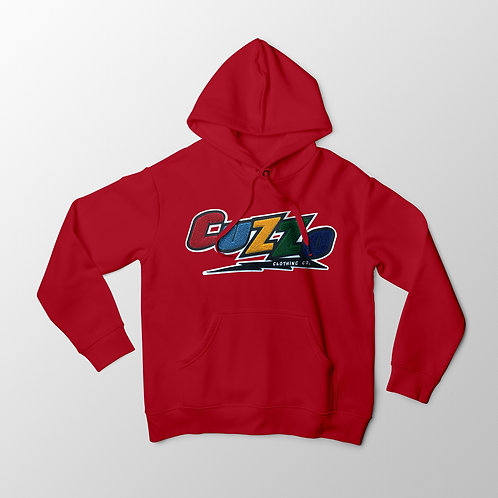 Cuzzo® Arc Hoodie (Red)
