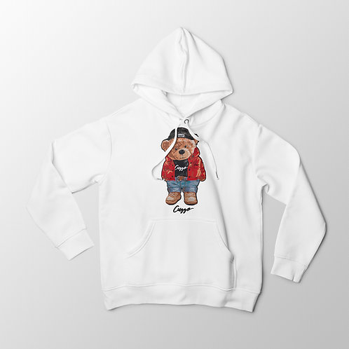 Cuzzo® Cuzzy® Hoodie (White)
