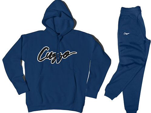 Cuzzo® Expanded Signature Jogger Set (Royal)