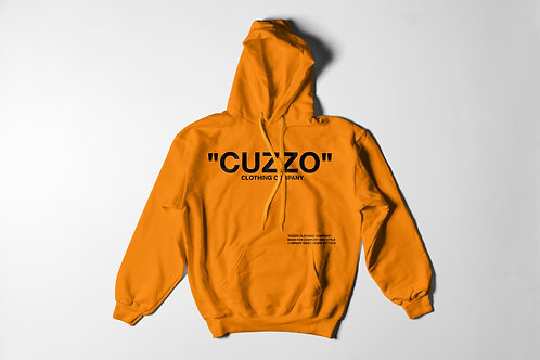 Cuzzo® Quote-ME Hoodie (Safety Orange-Black)