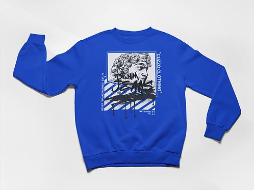 Cuzzo® Brandwashed Sweatshirt (Royal)