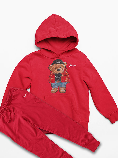 Cuzzo® Youth Cuzzy™ Jogger Set (Red)