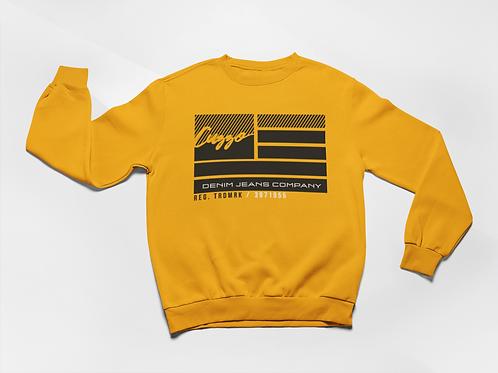 Cuzzo® Nation Flag Sweatshirt (Gold)
