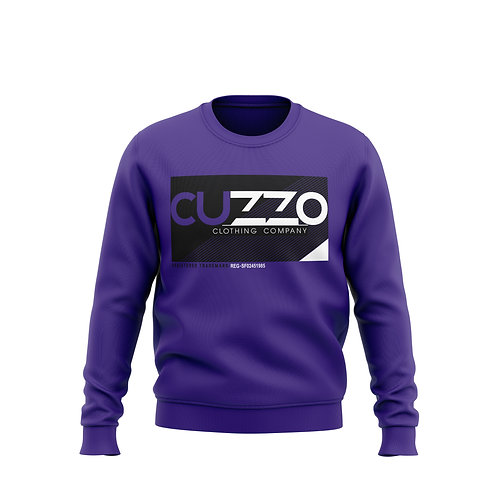 Cuzzo® Astro Crewneck Sweatshirt (Purple)