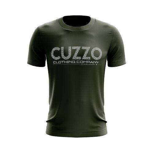 Cuzzo® I Am Black History Tee (Olive-White)