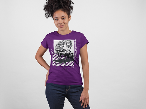 Cuzzo® Unisex Women's Brandwashed (Purple-Black)