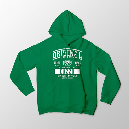 Cuzzo City-Limits Hoodie (Green-White)