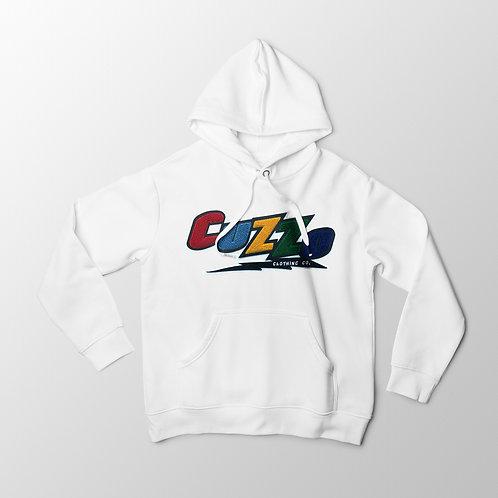 Cuzzo® Arc Hoodie (White)