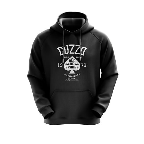 Cuzzo Ace of Spades Hoodie (Black-White )