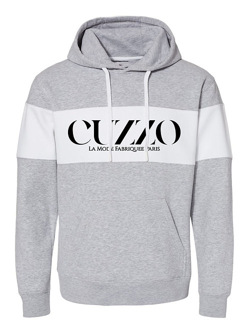 Cuzzo® Lux Color-Block Hoodie (Heather)