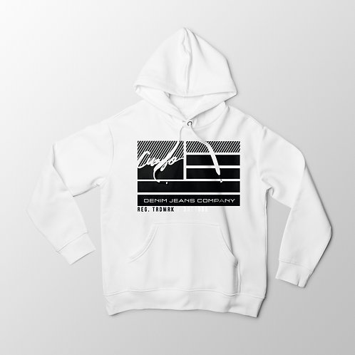 Cuzzo® Nation Flag Hoodie (White)