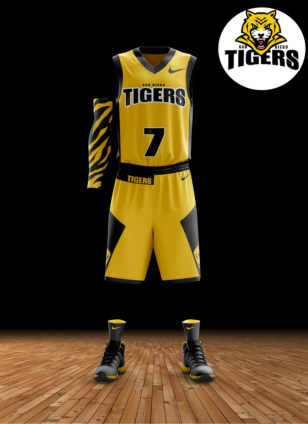 San Diego Tigers jersey